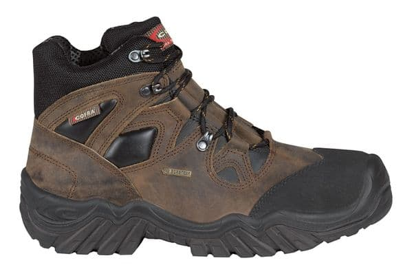 Cofra New Jackson Brown S3 Gore-Tex Safety Boots
